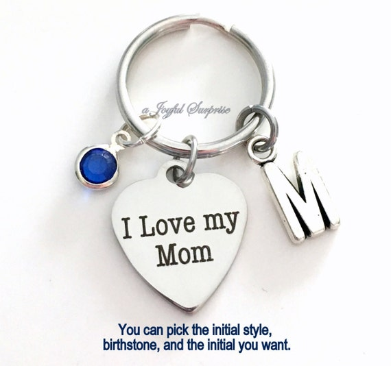 best Mummy Birthday present Metal keyring key fob Personalised any photo