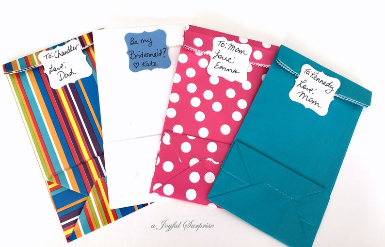 Gift Wrapping Add on Note with Gift Bag  Add on Gift image 0