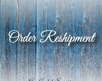 To Reship USA Orders - Via Letter Mail Tracked Shipping USPS -