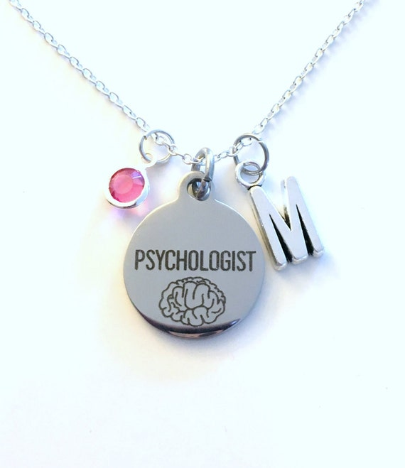 Psychologist Jewelry Psychology Necklace Gift For Psych Etsy