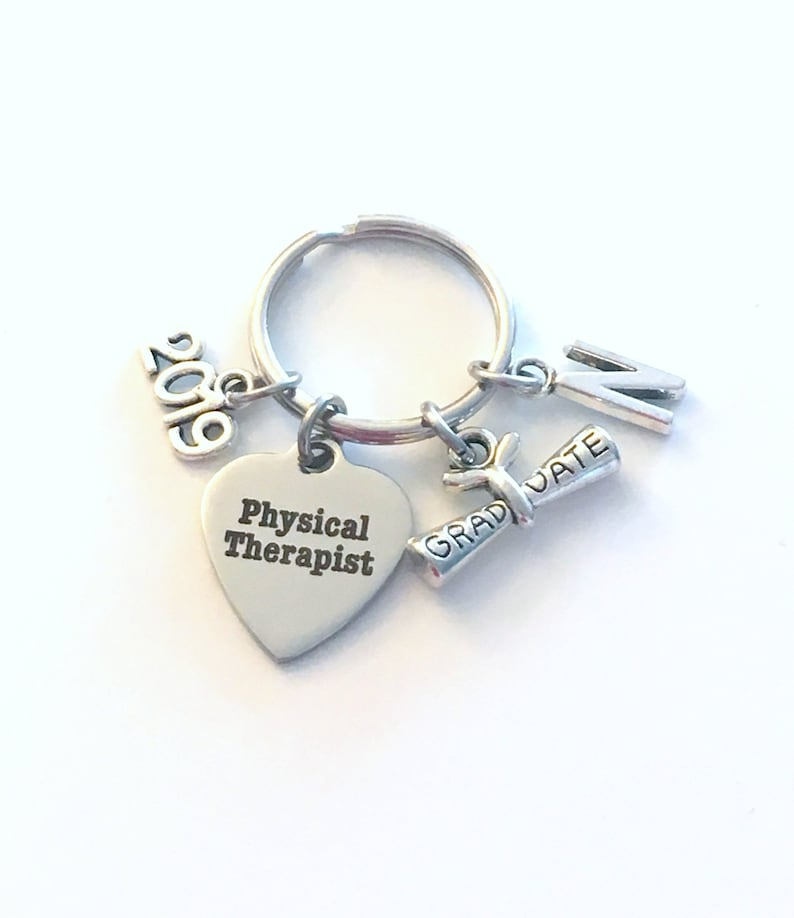 Physical Therapist Graduation Gift PT Keychain for Therapy ...
