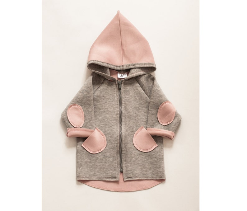6e695b4ed Toddler girl hoodie Baby girl jacket Stylish baby jumper