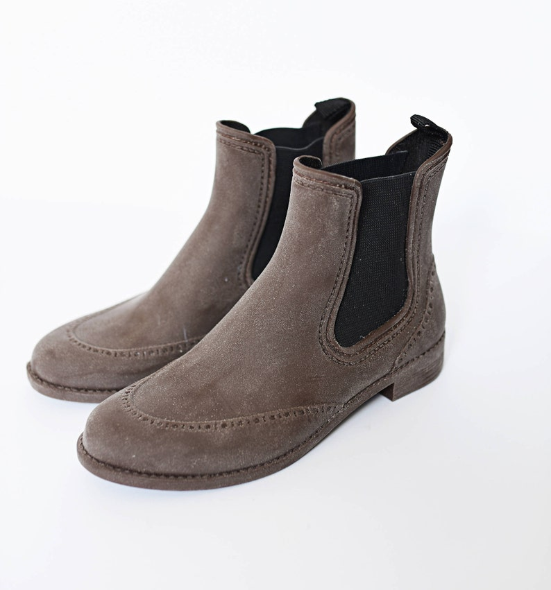 f58ac939d Ankle Shoes Ankle boots Women Rubber Boots Women Custom