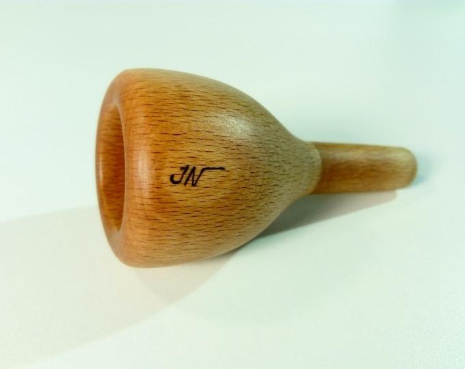 Bass Trombone mouthpiece 5 A Large shank Jeunaturel Ergonomic rim