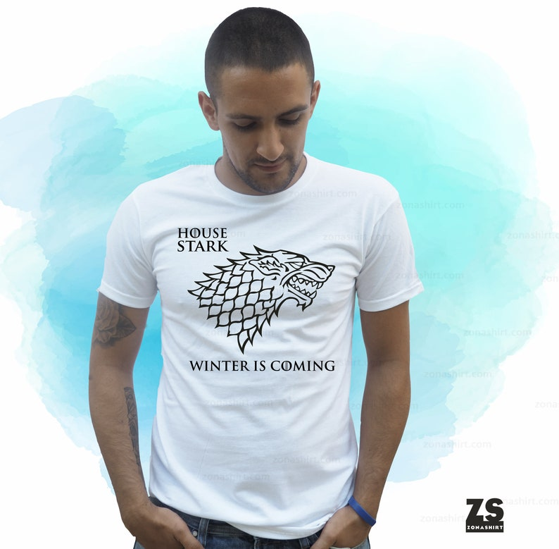 8c724b9e065a Winter is coming game of thrones shirt the north remembers