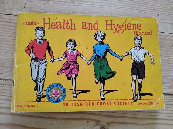 Vintage Gezondheid Boek Rode Kruis Boek Kitsch Handleiding Etsy
