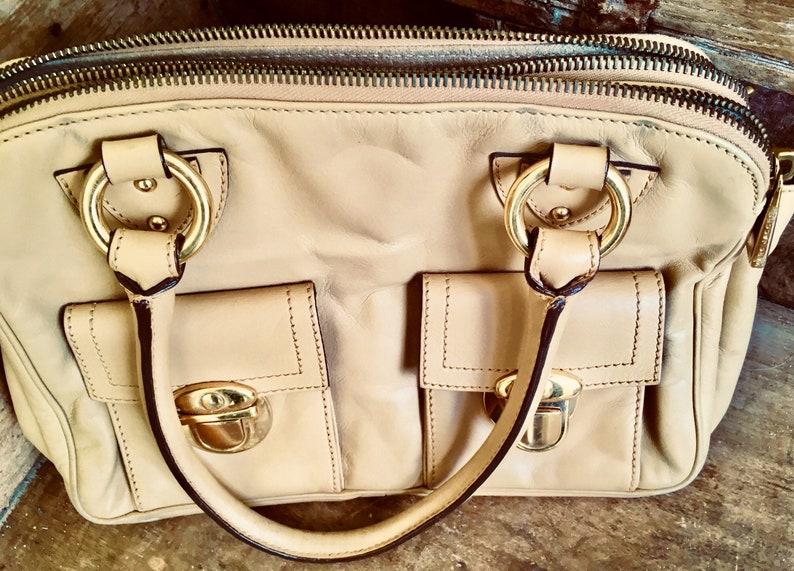 07e2c31f291 Marc Jacobs designer bag 1990s handbag 90s purse Camel   Etsy