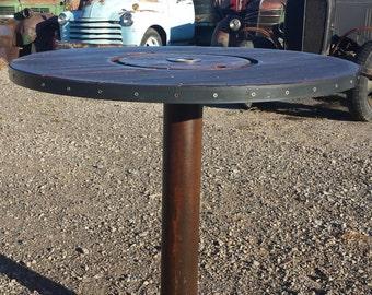 Spool Top Bar Height Table
