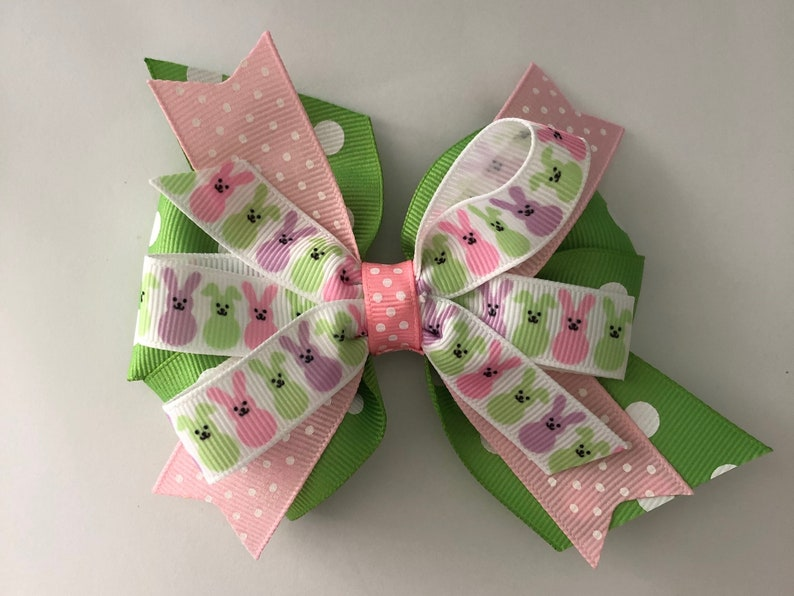 Pink Easter Bow
