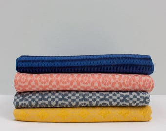 Super Soft Embroidered Scarf, 100% Cotton, Assorted Colours // Oversized Scarf