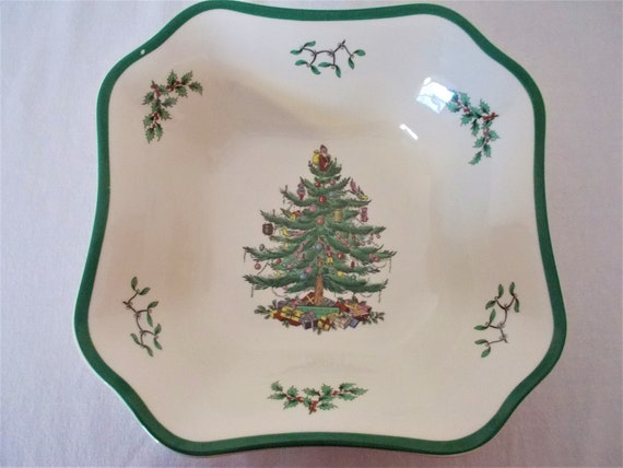 Spode Christmas Plates.Spode Christmas Tree China Spode Vegetable Bowl Christmas Tree Pattern Vegetable Bowl