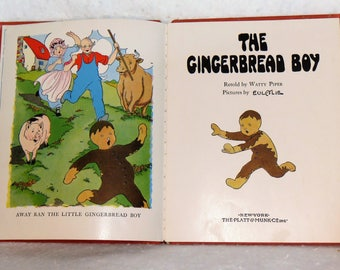 The Gingerbread Boy 1924 Watty Piper Retelling Never Grow Old Series Watty Piper Stories  Beloved Vintage Children's Book