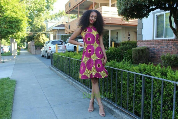 clothing Ankara item details African African print dress Please dress read HAFUgqf