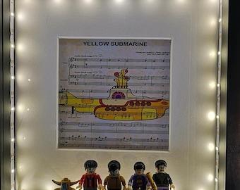 Unique Box Framed Music Prints