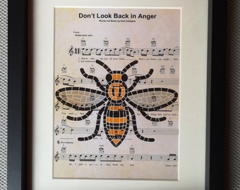 Unique Framed Music Prints