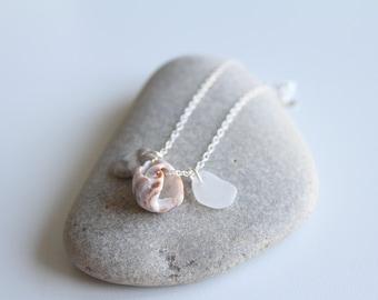 Charm Bracelet, Charm Bracelet Sterling Silver, Sea Glass Bracelet, Sea Glass Jewellery, Sea Glass,  Recycled Jewellery, Surf Jewelry