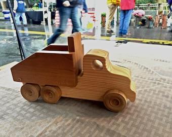 Wooden Toy Truck Dump Truck // il camion della spazzatura // Pane Perso Woodcrafts
