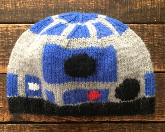 R2D2 Hat Alpaca Wool blend Ready to ship  17f845360f9