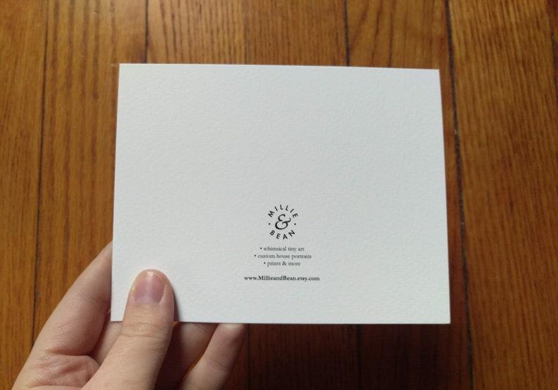 envelope NY hand-drawn card Spot Coffee note card Buffalo