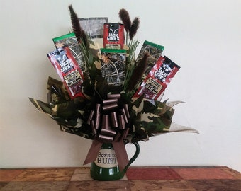 Hunting Candy Bouquet and Mug