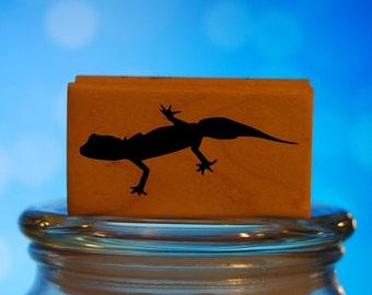 Stamp ingess wood stamps  GECKO