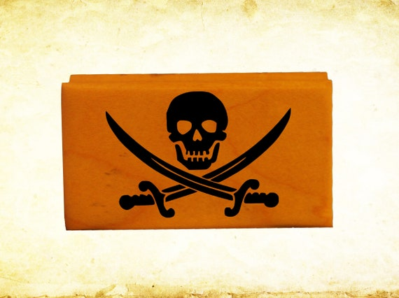 Jolly Roger Calico Jack Flag Embroidered Patch Tan Subdued Pirate Skull Iron-On