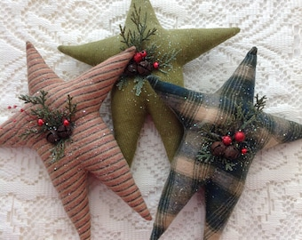 primitive christmas decor stars - Primitive Christmas Decor