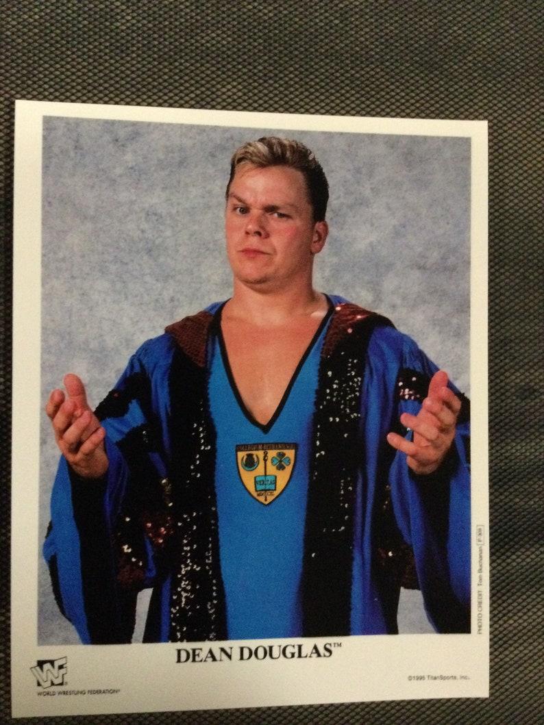 DEAN DOUGLAS Shane classic wrestling promo art print photo 8x10 wwe wwf wcw ecw