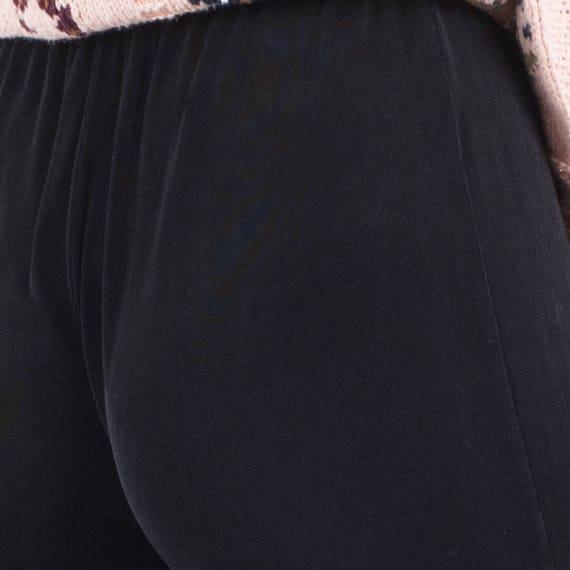 AMAZING Vintage Black Slinky Pants / S / pants fe… - image 9
