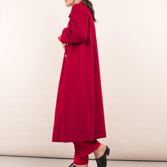 Vintage Red Swing Overcoat / S - image 3