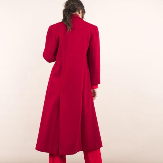 Vintage Red Swing Overcoat / S - image 6