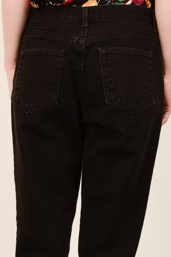 Vintage Black Relaxed FADED GLORY Denim Pants  / … - image 5