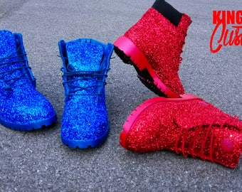801f37ccb1f Sparkly  Glitter Timberland Boots