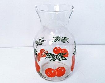 Vintage Orange Juice Carafe