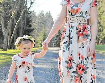 Mommy and Me Maxi Dresses 8ad42e3abd