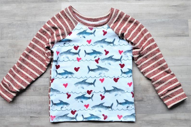Shark Birthday Shark Boy Shirt Shark Pullover Shark Outfit Shark Boy Clothing Shark Gift Shark Tee Shark Sweater Shark Boy Shirt