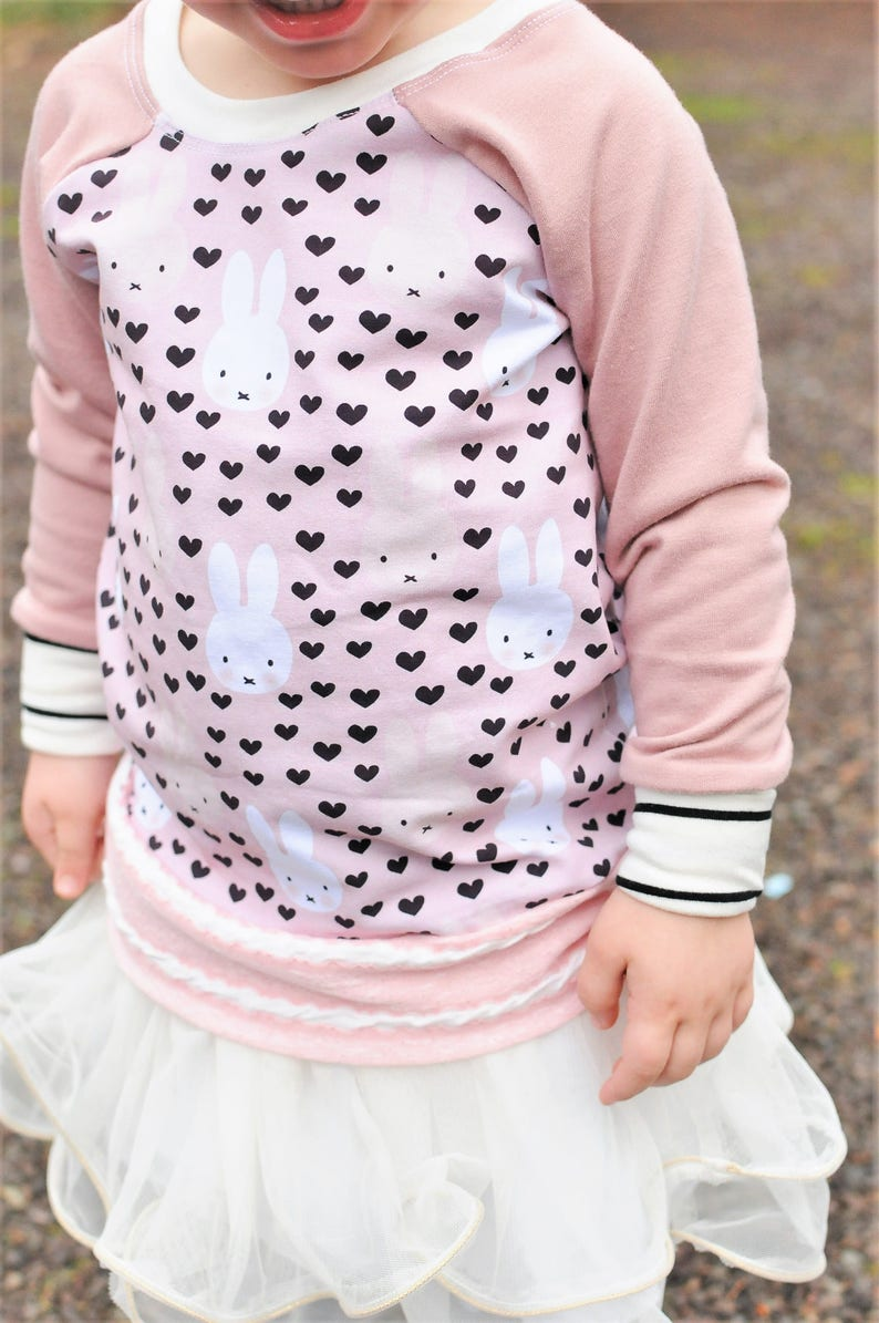 6d89d2bad Bunny Sweater Girl s Sweater Back to School Bunny