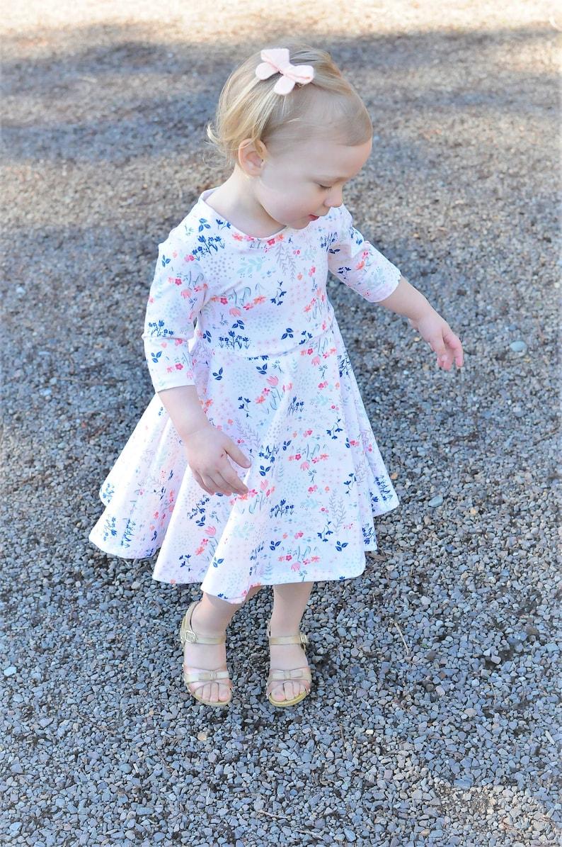 22daedcb07f0 Floral Dress Flower Girl Dress Baby Dress Toddler Dress   Etsy