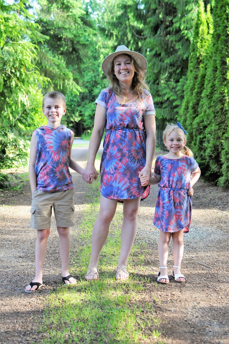 Baby Gift Tie Dye Baby Mommy and Me Clothes Tie Dye Mommy and Me Tie Dye Dress Mommy and Me Dresses Tie Dye Tank Mommy and Me Outfit