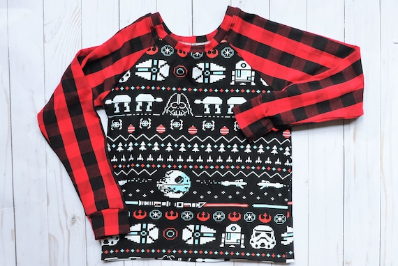 Nerdy Christmas Sweater.Christmas Sweater Ugly Christmas Nerdy Christmas Baby Sweater Christmas Outfit Family Ugly Christmas Sweaters Plaid Sweater Buffalo