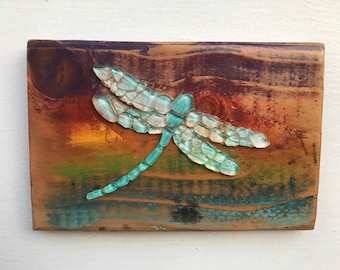 Dragonfly Wall Art Etsy