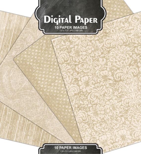 Wedding Digital Paper Old Digital Paper Digital Background Champagne Printable Grunge Hochzeit Vintage Paper 65