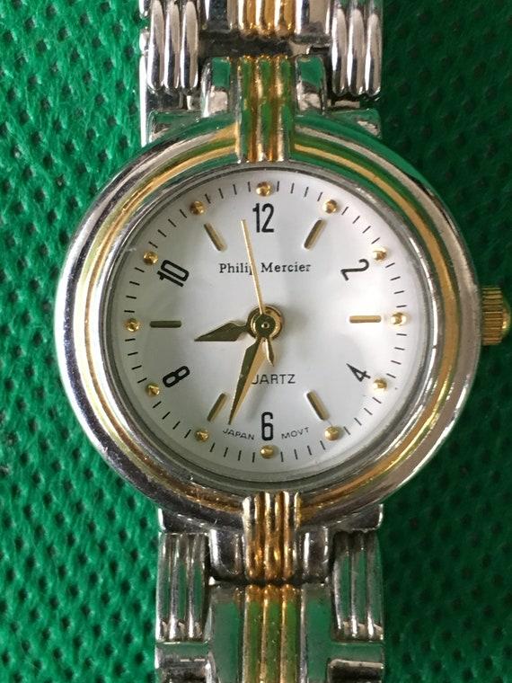 4425e939b Attractive Quartz Wrist Watch from Philip Mercier L123L CNL   Etsy