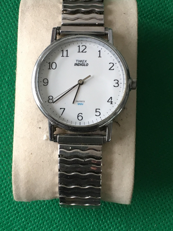 Vintage Timex Indiglo Quartz CR 2016 cel met licht