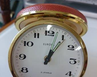 Vintage Alarm Clock EUROPE Mechanical Made in Germany