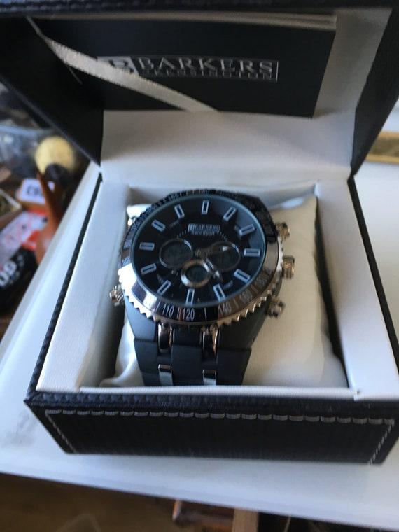 Barkers van Kensington Aero sport horloge