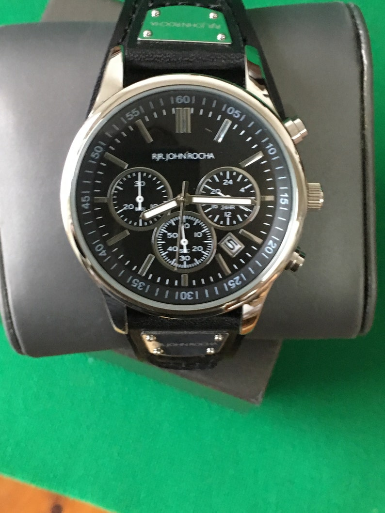 89abefdd2ef RJR.John Rocha 7211493 Mens Designer Wrist Watch Chronograph   Etsy