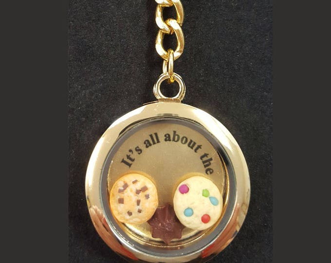 Locket keychains