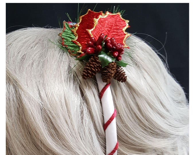 Christmas Purple Berry Headband