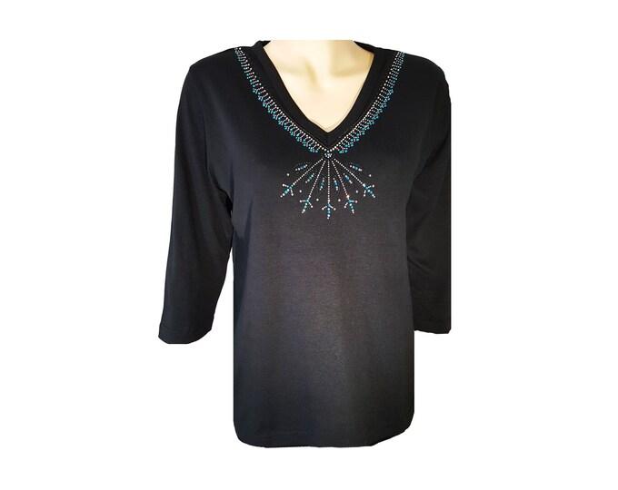 Arrow Southwestern Design Bling Shirt Native American
